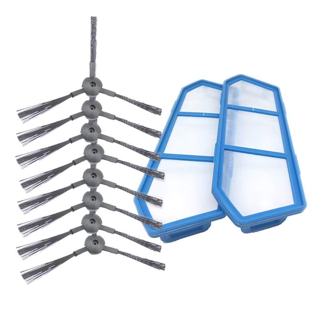 CAOQAO Ilife - Kit de Filtro y Cepillo Lateral de Repuesto para ...