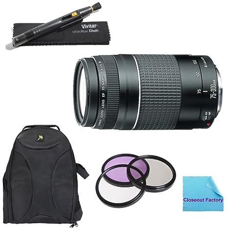 Amazon.com: Deluxe cañones El paquete para Canon EOS 7d ...