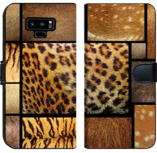 Samsung Galaxy Note 9 Flip Fabric Wallet Case Collection of Natural Textures Animal Furry pelts Image 19591280 Customized Tablemats S