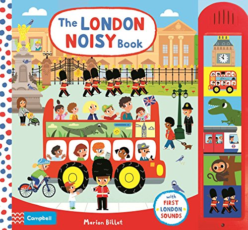 The London Noisy Book (Campbell London Range)