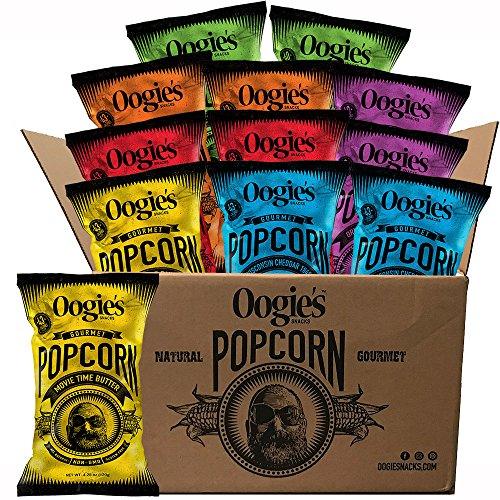 Oogie's Variety Pack 4.25oz bag (Pack of 12) - Popcorn Pack Gift