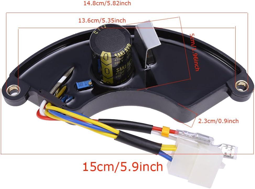 Generator AVR Voltage Regulator Fits Homelite AVR HGCA4500 HGCA5000 PS7000 PS5000B PS5000