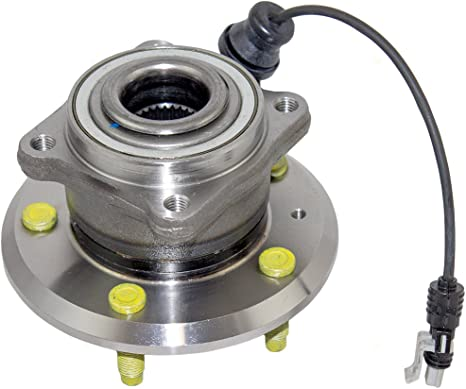 ECCPP Wheel Hub Bearing Assembly New Premium Bearing and Hub Assembly Rear 5 Lugs w//ABS for Chevry Pontiac 2007-2009 Compatible with 512358