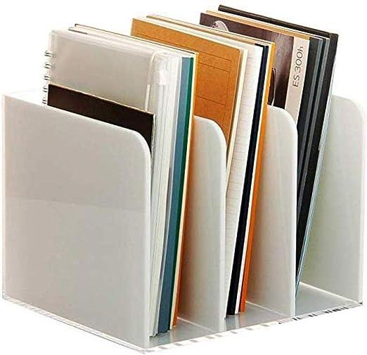 HongLianRiven - Archivador con 4 Modelos de plexiglás para revistas y archivadores, Caja de Almacenamiento para Muebles de Oficina en casa (Color: A), Color: A 12-30: Amazon.es: Hogar