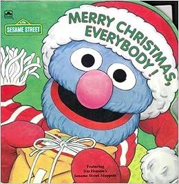 merry christmas everybody a sesame street golden super shape book constance allen david prebenna 9780307100177 amazoncom books