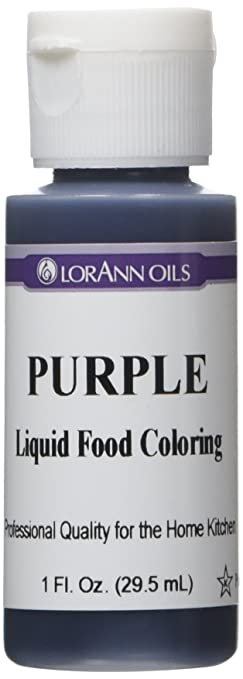 Amazon.com: Liquid Food Color 1oz-Purple: Arts, Crafts & Sewing