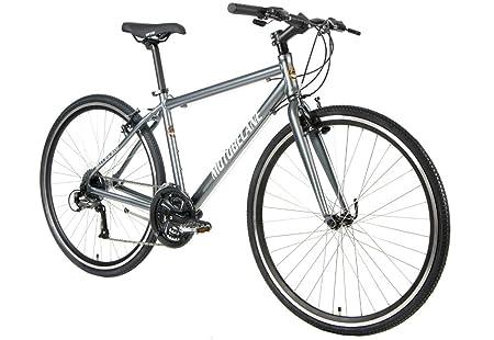 Review 2018 Motobecane Cafe Latte Aluminum Flat Bar Road Fitness Hybrid Bicycle FULL Shimano Drivetrain