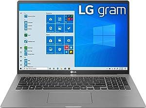 "LG Gram 17 School and Business Laptop (Intel i7-1065G7 4-Core, 16GB RAM, 512GB PCIe SSD, Intel Iris Plus, 17.0"" 2560x1600, WiFi, Bluetooth, Webcam, 2xUSB 3.1, 1xHDMI, Win 10 Pro) (Renewed)"