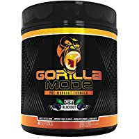 Gorilla Mode Pre Workout - Massive Pumps · Laser Focus · Energy · Power - L-Citrulline, Creatine, GlycerPump™, L…