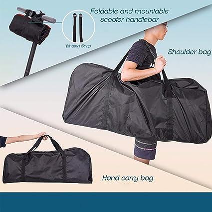 Amazon.com: Konesky Scooter Bolsa de transporte Mochila para ...