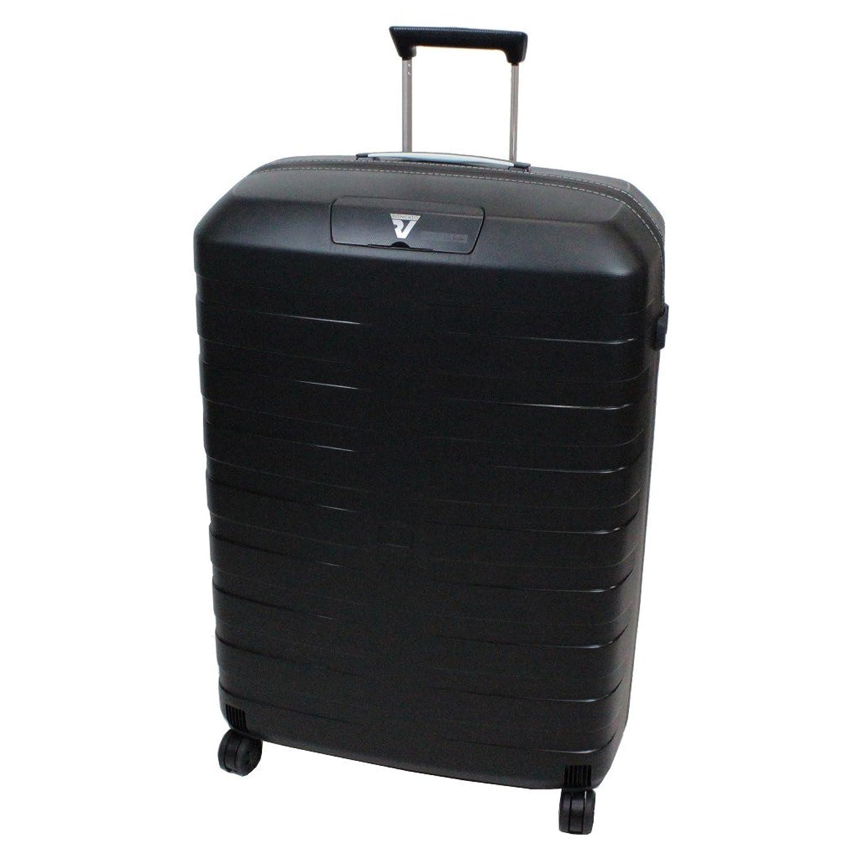 RONCATO ロンカート BOX ボックス スーツケース 5511 B01E8DIQ0Uブラック/ホワイト