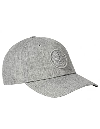 ee8619078d7 Stone Island Light gray blend cap bucket fisher hat - M