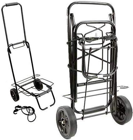 Foldaway Luggage Cart Carrier Trolley Wheels Truck Camping Warehouse Trolley 25k
