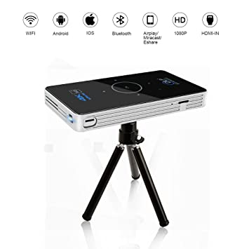 OTHA Mini Proyector 4K Android 5.1, RAM 2GB DDR3 DLP Proyectores ...