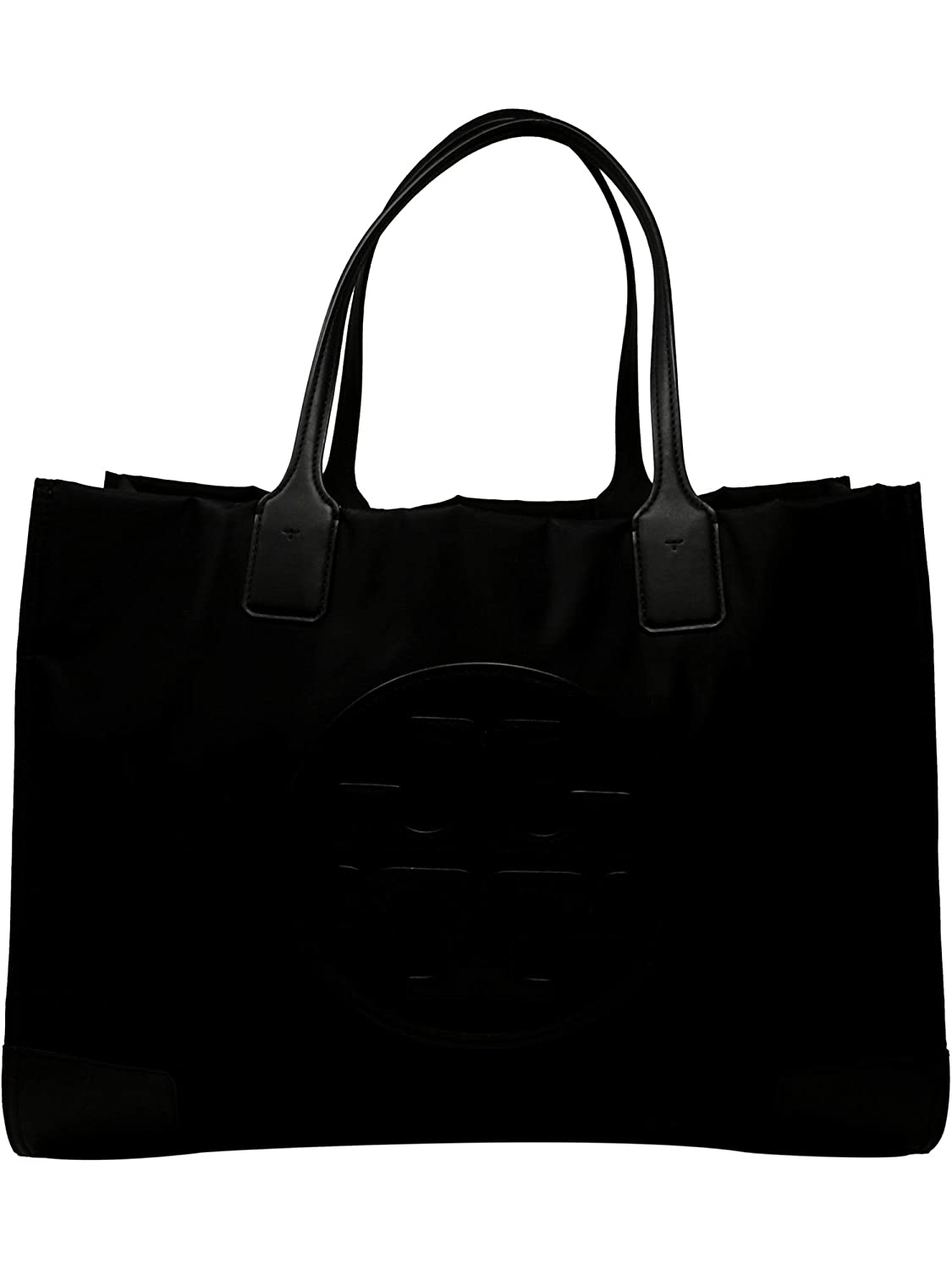 5254ea5fb451 Amazon.com  Tory Burch Women s Ella Nylon Top-Handle Bag Tote - Black  Tory  Burch  Shoes
