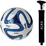 COMBO ALKA Blue & White (3 Ply PVC; Size- 5)