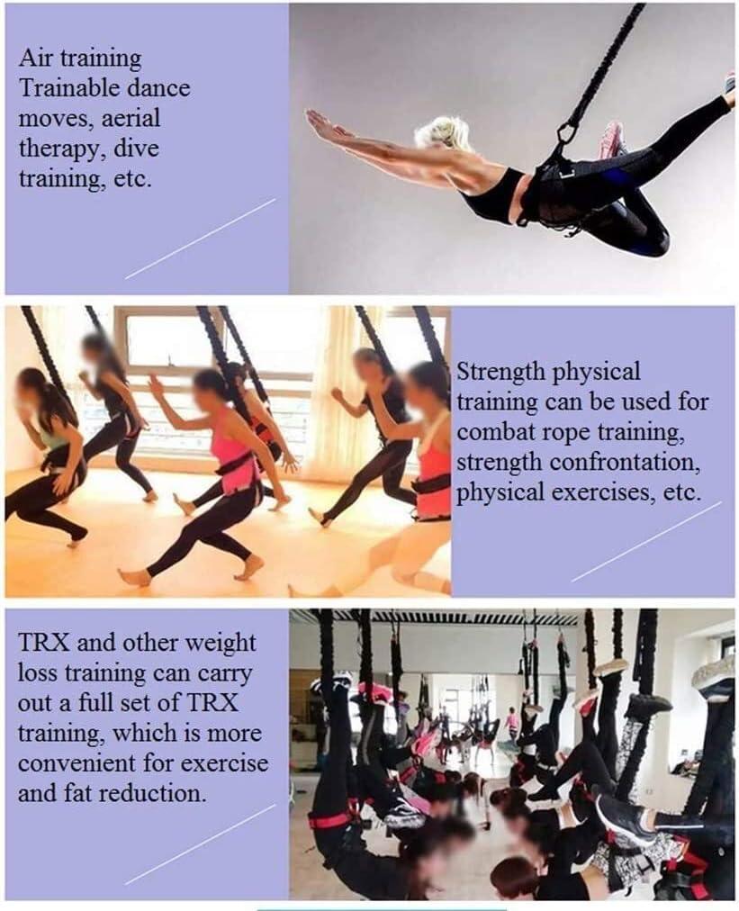 HZF Yoga Ejercicio Banda aérea Suspensión Yoga Stretch ...