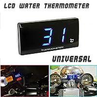 SUNWAN - Termómetro digital para motocicleta DC12 V