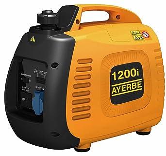 Ayerbe AY-1200 KT Generador Inverter, 1000W: Amazon.es: Industria ...