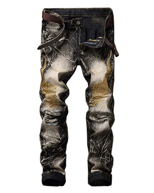 Jeans Pantalón Slim fit para Hombre, Vaqueros Pantalones ...