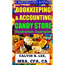 BOOKKEEPING & ACCOUNTING CANDY STORE ILLUSTRATION EXAMPLES: For Small Business & Home Business (Bookkeeping, Accounting, Quickbooks, Simply Accounting, Sage, ACCPAC)