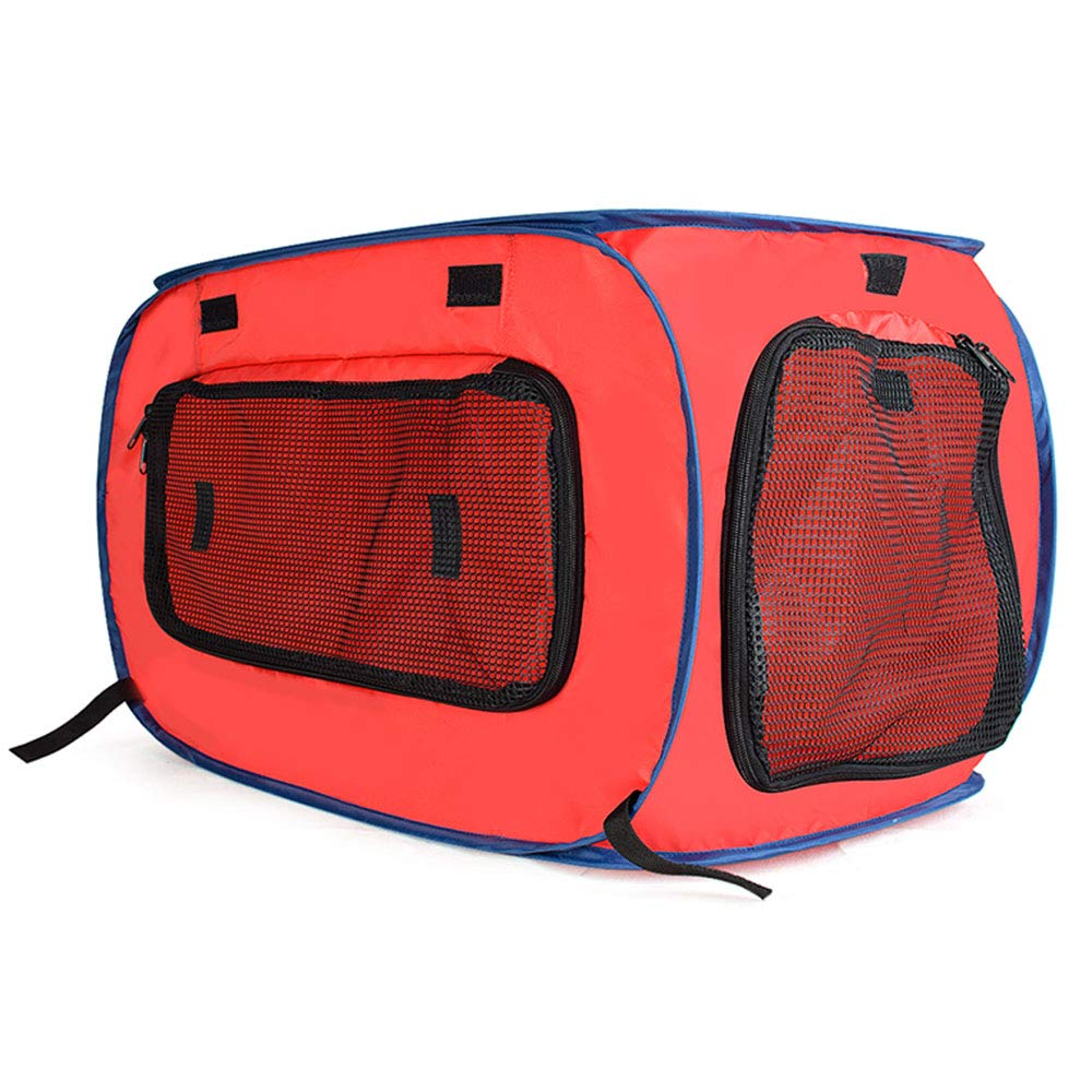 Red Small Red Small Pet Booster Seat Dog Car Seat Traveling Pet Fencet Breathable Pet Outing Tent Portable Carrier Waterproof Cage Crate Foldable for Cat Puupy,Red,S