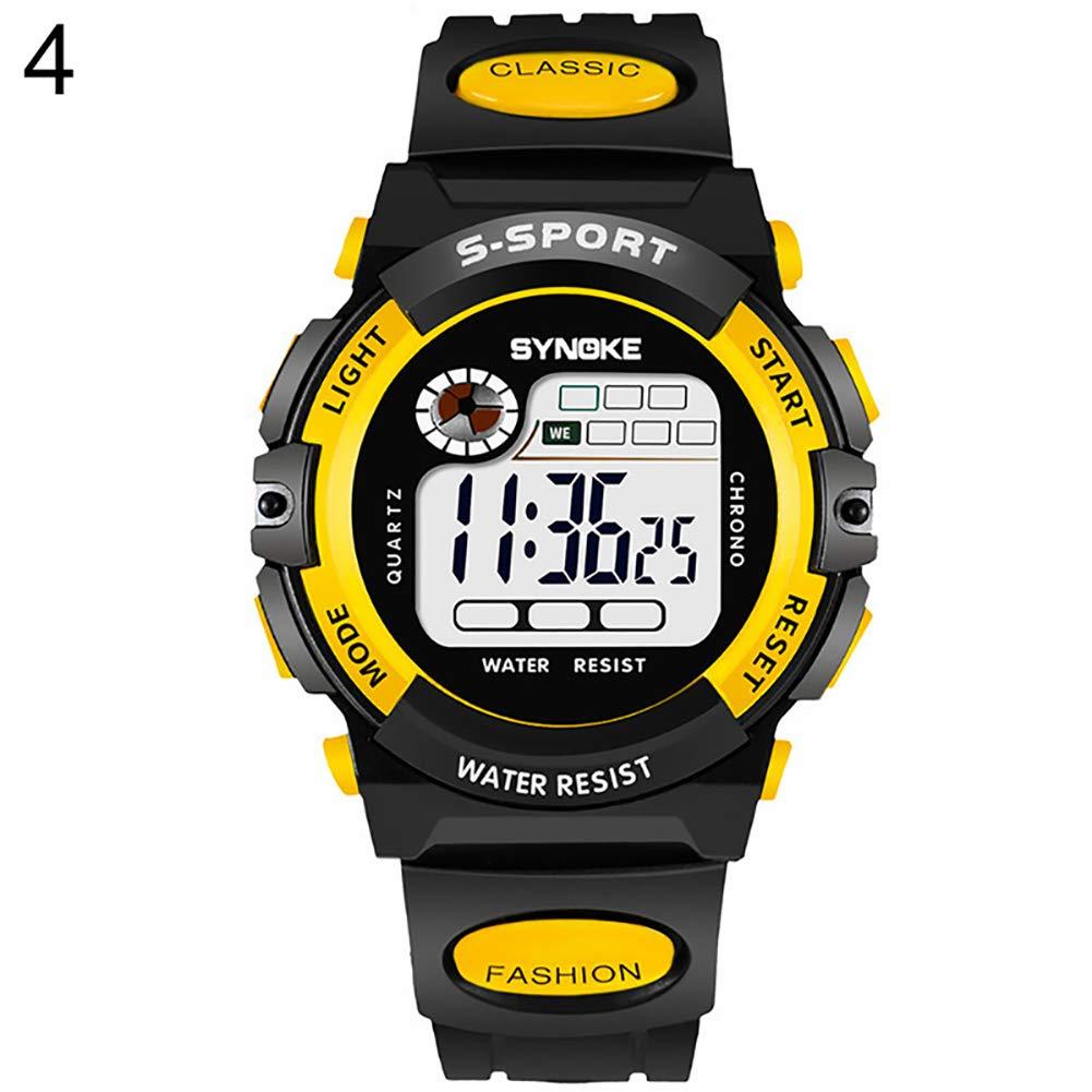 Kids Watch for Boys Girls, Kids Digital Alarm Calendar Waterproof Sports Wrist Watch