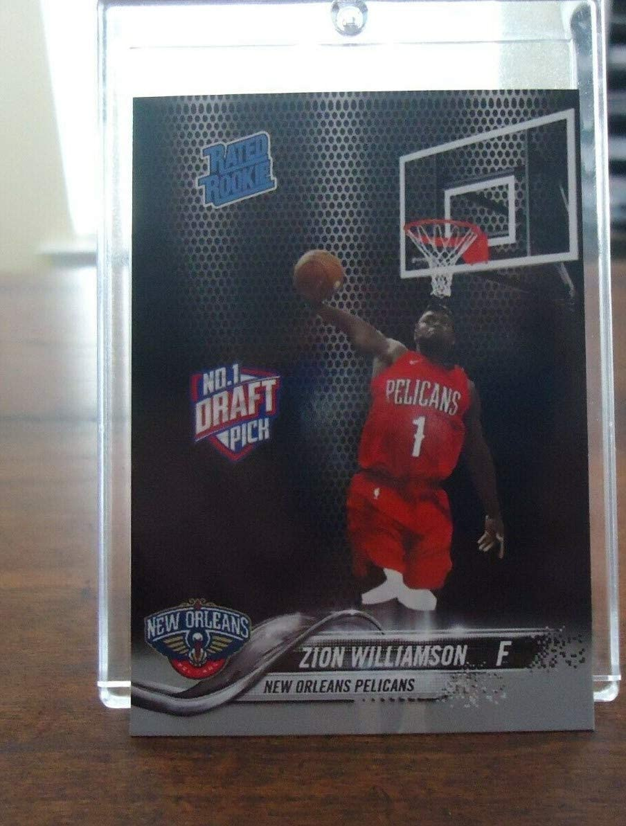 Zion Williamson Rated Rookie # 1 Draft Pick New Orleans Pelicans Dunk Pose in a one touch magnetic case