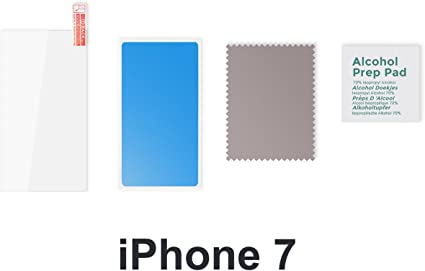 cover iphone 7 360 gradi pellicola vetro temperato