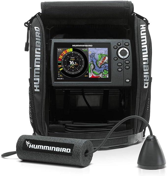 Humminbird ICE H5 HELIX 5 CHIRP GPS G2 FB Fish Finder 410970-1