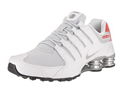separation shoes b7f44 fb76f Nike Shox Nz Se Mens Style  833579-102 Size  7.5 M US White