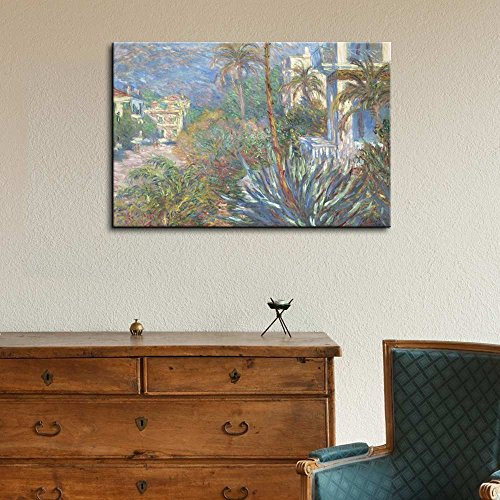Villas at Bordighera by Claude Monet Impressionist Art