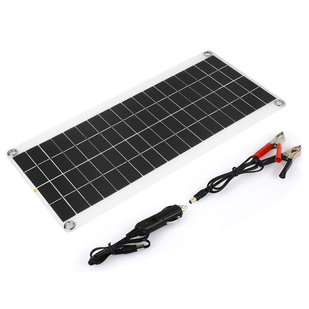 Haihuic Modulo per Pannelli solari da 15 W a 12-18 V Pannello Solare fotovoltaico fotovoltaico Cella Solare policristallina RV Barca Marina Non in Rete