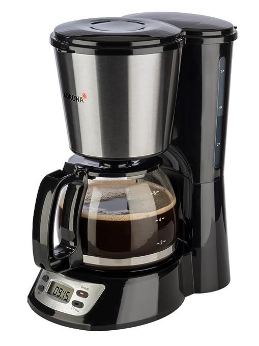 Korona Electric 12113 Cafetera con Temporizador, acero inoxidable ...