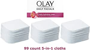 Olay Daily Facial 5-in-1 Water Activated Facial Cleansing Cloths 99ct