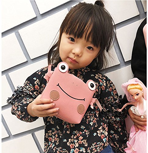 Case Crossbody Great Mini Yrs Shoulder 8 Holder Handbags Kids Christmas Candies Small Frog Cell 2 Bags Phone Pink for Toddlers Purse Lovely Design Clutch Wallet Birthday Gift wII6x0Uq