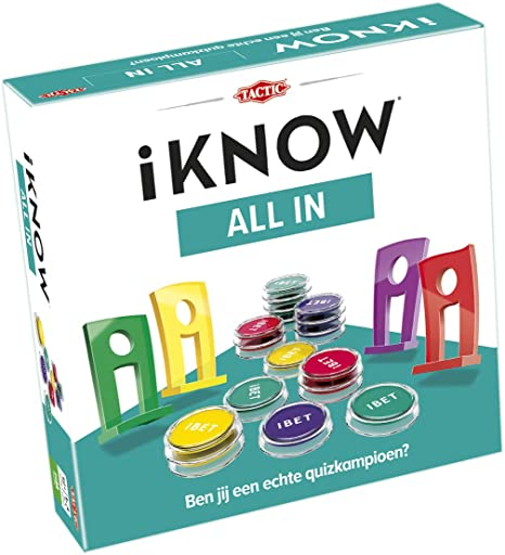 Tactic iKNOW All in Adultos Juegos de Preguntas - Juego de Tablero ...