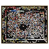 Puzzle Mat Pro 1500 - 2017 Edition 37'' X 30'' Real Wood Fits All Standard 1500 Piece Puzzle Brands - Walnut