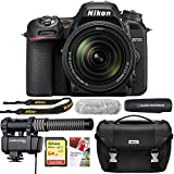 Nikon D7500 20.9MP DX-Format DSLR Camera + AF-S 18-140mm ED VR Lens Reporter Kit