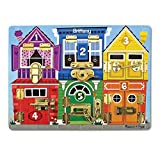 Melissa & Doug Personalized Latches Wooden Activity Board