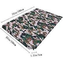 Gazelle Outdoors Camouflage Automatic Inflatable Camping Sleeping Pad