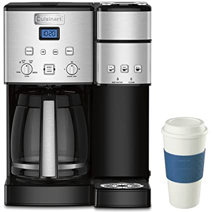 Amazoncom Cuisinart 12 Cup Coffee Maker And Single Serve Brewer