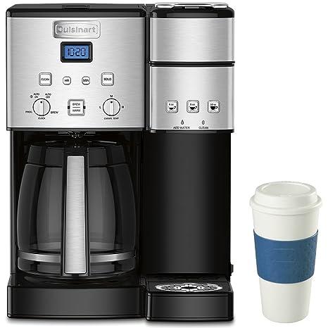 Amazon.com: Cuisinart - Cafetera de 12 tazas (acero ...