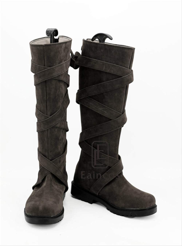 WSJDE Juego de Tronos Temporada 7 Daenerys Targaryen Botas Cosplay Zapatos de Fiesta de Halloween por Encargo 44 2