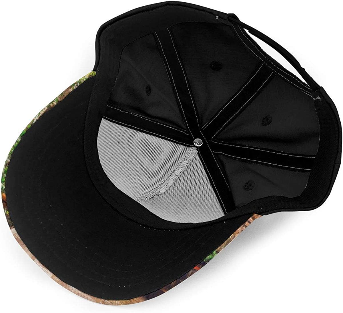 Uscan Old Mediterranean Lightweight Unisex Baseball Caps Adjustable Breathable Sun Hat for Sport Outdoor Black