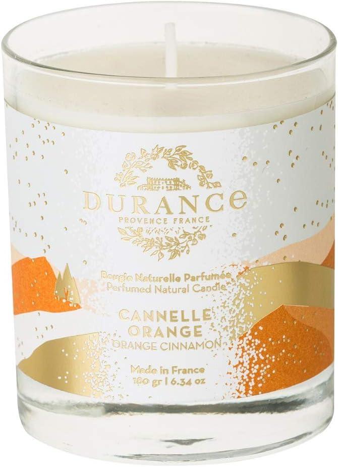 DURANCE Bougie parfum/ée Cannelle Orange