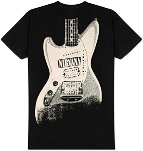 Nirvana – guitarra descarga camiseta talla L: Amazon.es: Hogar