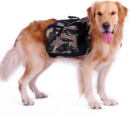 Alforja perro 2 en 1 Perro mochila, viaje del perro del animal doméstico del Pack-Engranajes