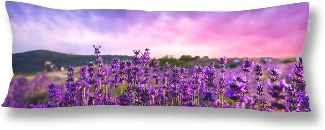 waschbar mit Rei/ßverschl/üssen Maternity//Schwangerschaft-Kissenbezug Lavendel aus weicher Baumwolle 50 cm x 150 cm CiCiDi Seitenschl/äferkissen 50 cm x 150 cm
