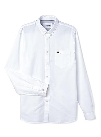 Chemise Blanc Et Vêtements Blanc Lacoste Xl Ch5504 wrqz0wB